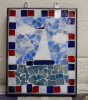 Glass on Glass Mosaic Suncatcher