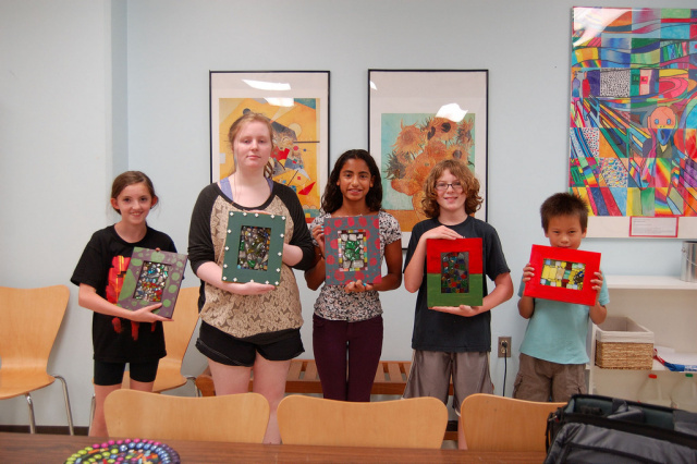 Kids Art Class with Eleanor Parr-DiLeo